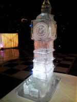 BIG BEN ICE SCULPTURE