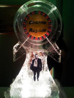 James Bond Ice Sculpture
