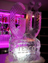 Sponsored Ice Sculpture