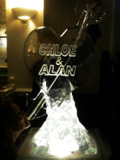 Heart and Arrow Vodka Luge