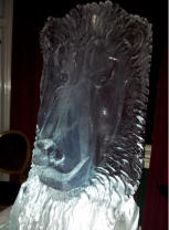 Lions Head Vodka Luge
