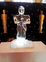 Oscar Statue Ice Sculpture