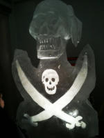 Pirate Ice Sculpture