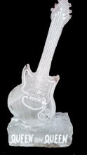 Brian May Queen Guitar Ice Sculpture