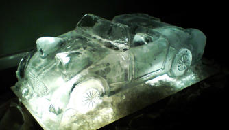 Forg Eyed Sprite Car Vodka Luge
