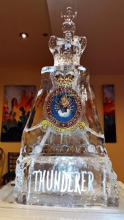 Thunderer Squadron Ice Sculpture