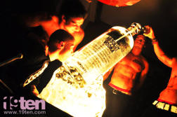 Absolut Vodka Luge Ice Bottle