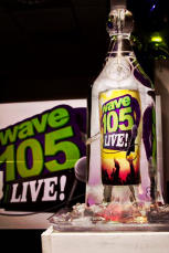 Wave 105 Vodka Luge