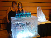 Engraved Xmas Ice Bar